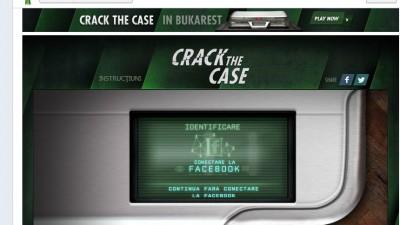 Aplicatie de Facebook: Heineken Crack the Case - Intro