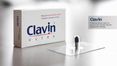 Clavin Ultra - Erection Blister Packaging