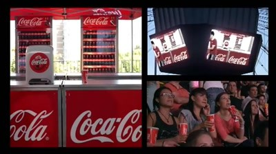 Coca-Cola - Zero Banuieli @ RHCP