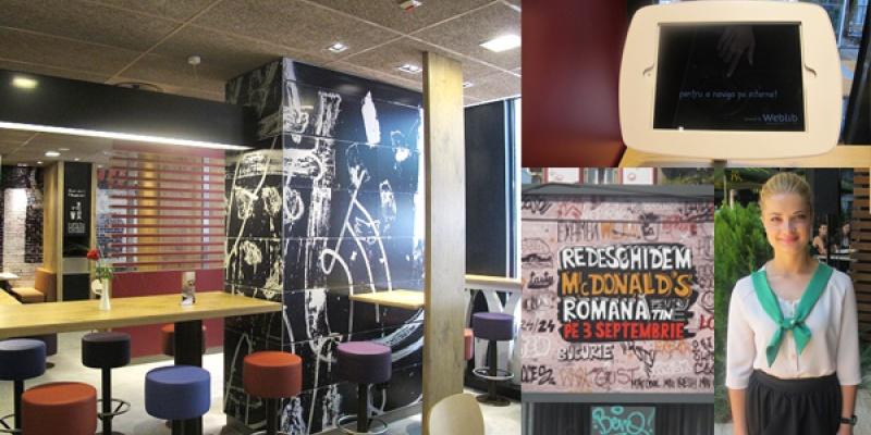 McDonald's Romana s-a redeschis cu un design urban destinat tinerilor