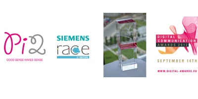 """Siemens Race"", castigatorea categoriei ""Companii"" in cadrul Digital Communication Awards 2012"