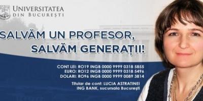 [Salvam un profesor, salvam generatii!] Donatiile pentru Adela Rogojinaru pot fi acum facute prin sistem Pay Pal