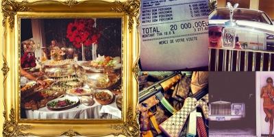 Jurnalul unui brand de lux, pe Instagram