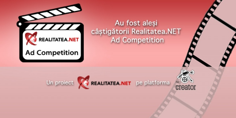 Realitatea.NET Ad Competition a ajuns la final