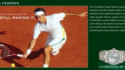 Rolex - Roger Federer