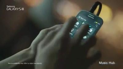 Samsung Galaxy S III - Galaxy S III & David Beckham