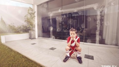 Templex Tempered Glass - Football