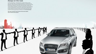 Audi Q5 - Lane Assist