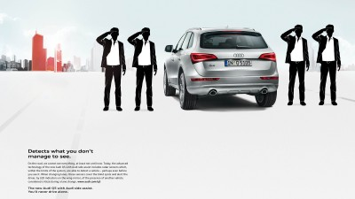 Audi Q5 - Side Assist