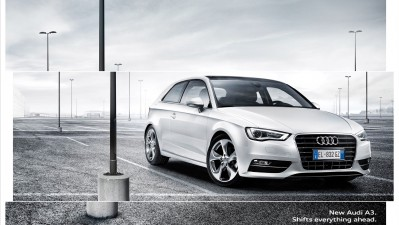 Audi - Shifts everything ahead