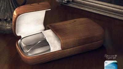 Bausch & Lomb - Coffins Brown Coffin