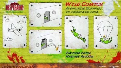 Desperados Wild Comics - Invinge Frica