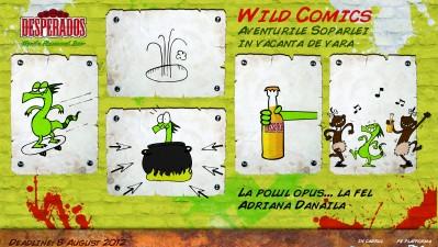 Desperados Wild Comics - La polul opus la fel