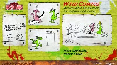 Desperados Wild Comics - Raul navalnic
