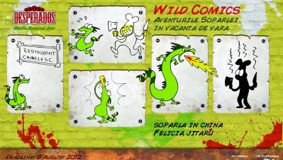 Desperados Wild Comics - Soparla in china