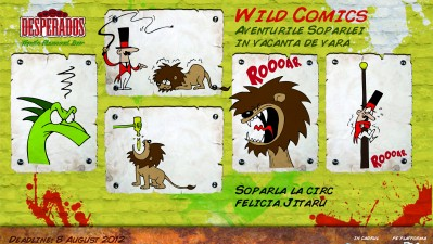 Desperados Wild Comics - Soparla la circ