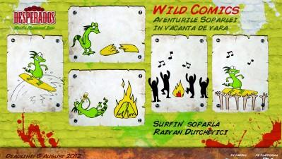 Desperados Wild Comics - Surfin soparla
