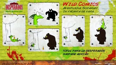Desperados Wild Comics - Totul pana la Desperados