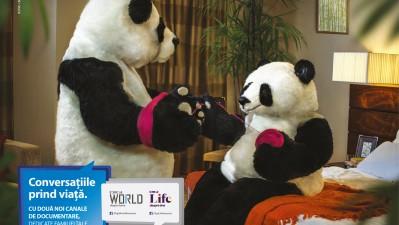 Digi World + Life - Panda (print)