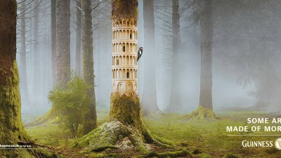 Guinness - Made of More, Woodpecker