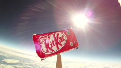 Kit Kat - Goes To Space! #BreakFromGravity