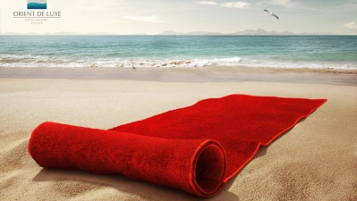 Orient de Luxe - Red Towel