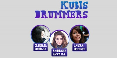 3 reprezentanti Kubis Interactive, in prima editie a competitiei Boss Drum Award din cadrul Golden Drum