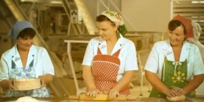 Gospodinele din fabrica, protagoniste in spotul semnat de Saatchi & Saatchi pentru pastele Arnos