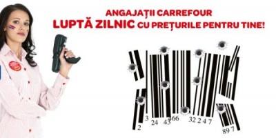 Angajatii Carrefour se lupta cu preturile in noua campanie semnata de Publicis