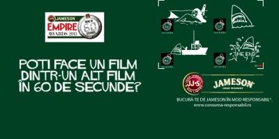 Cinefilii romani pot participa din nou la competitia globala Jameson Empire Done In 60 Seconds