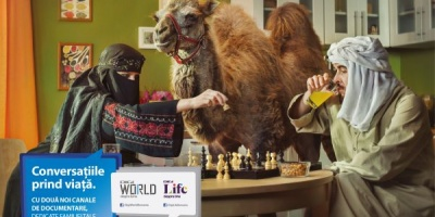 "Campania de lansare Digi Life si Digi World ""Conversatiile prind viata"", semnata de Rusu+Bortun Brand Growers"