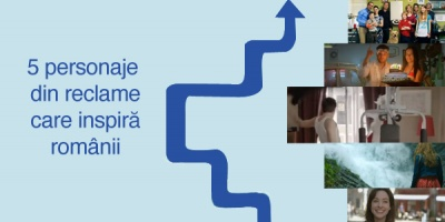 5 personaje din reclame care inspira romanii