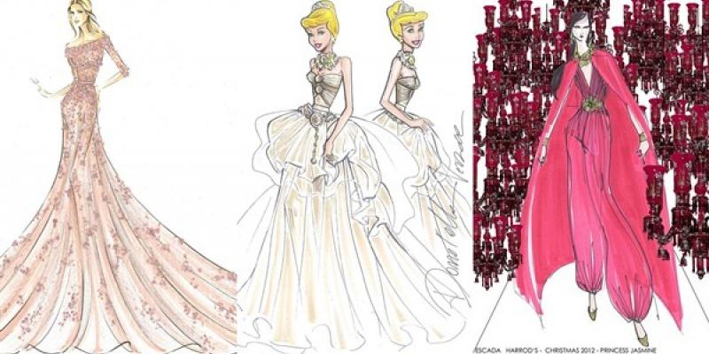 10 designeri de top creeaza rochii pentru colectia Disney Princess