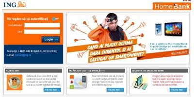 Noua platforma de Internet Banking ING, semnata de Grapefruit