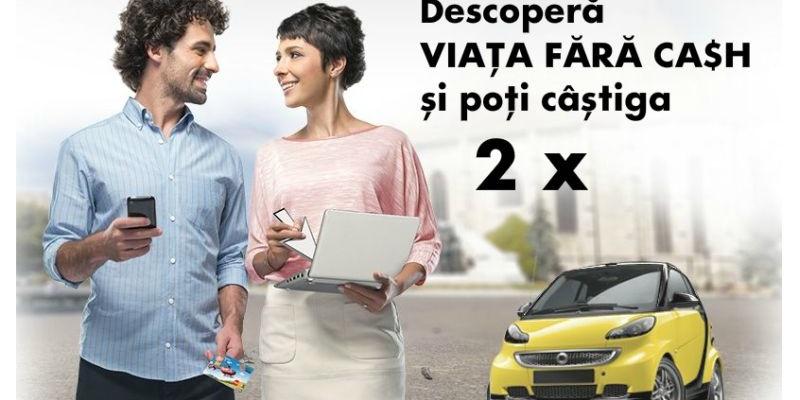 """Viata Fara Cash"", campania Raiffeisen Bank in cadrul careia un cuplu isi plateste facturile fara bani lichizi"
