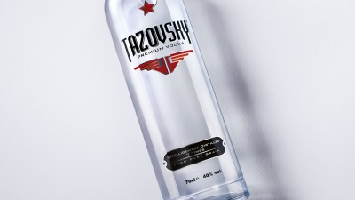 Tazovsky Vodka - Inteligentlly distilled (print)