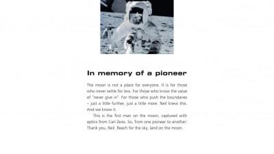 Zeiss Lens - In memory of...