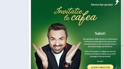 Aplicatie de Facebook: Jacobs Kronung - Invitatie la cafea