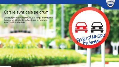 Dacia - Cartile sunt deja pe drum, Rosu si negru