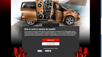 Ford BMAX - Concurs pe Vocea Romaniei