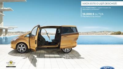 Ford BMAX - Viata este o usa deschisa