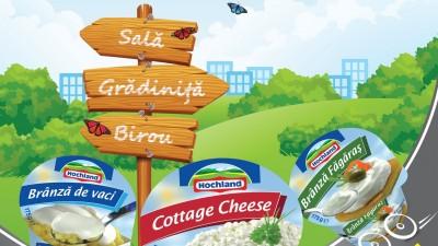 Hochland – Fresh Cheese (print)