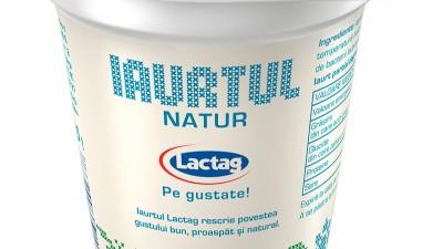 Lactag - Packaging, 1 (iaurtul natur, 140 g)