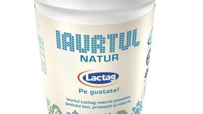 Lactag - Packaging, 3 (iaurtul natur, 375 g)