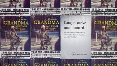 Mercedes-Benz Transporter - Danger Doesn't Announce Itself, Grandma