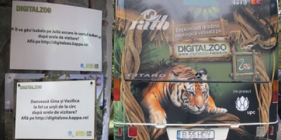 200.000 euro investiti de UPC in proiectul Digital Zoo din 2009 pana in prezent