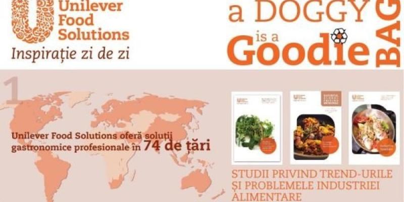 [Studiu de caz] My Doggy Bag is a Goodie Bag, campanie Unilever Food Solutions impotriva risipei mancarii in restaurante