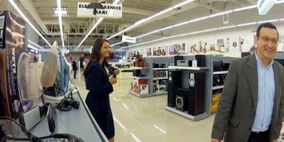 """Campania """"Flanco. Mereu peste asteptari"""" surprinde reactiile cumparatorilor la demonstratiile angajatilor din magazine"""