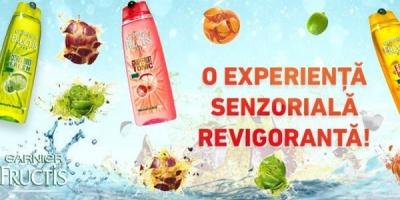 """Aplicatia de Facebook """"Fructis Sensations Shampoos"""" a promovat noile sampoane Garnier"""