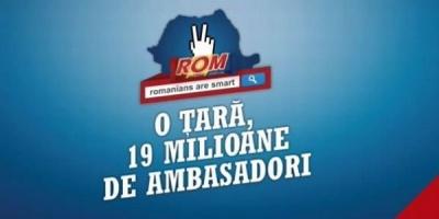 """Noua campanie """"Romanii sunt destepti"""" vrea o tara cu 19 milioane de ambasadori"""